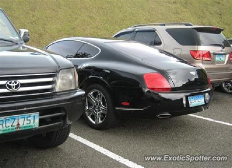 bentley philippines bentley continental spotted in tagaytay philippines on 07
