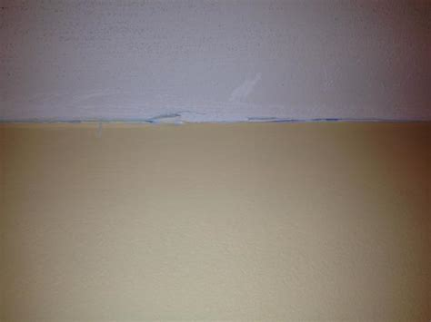 How To Fix Drywall Seams On Ceiling by Drywall Repair Drywall Repair Between Ceiling And Wall