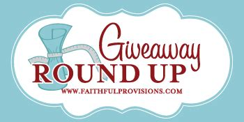 Giveaway Linky List - giveaway linky list faithful provisions