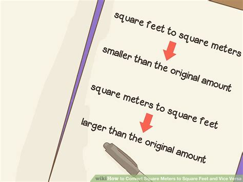4 meters to feet how to convert square meters to square feet and vice versa