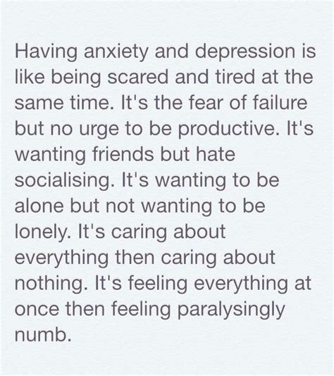 the stress of having a having depression and anxiety quotes mental health truths and mental illness