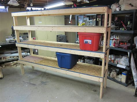how to build a storage cabinet wood 20 diy garage shelving ideas guide patterns