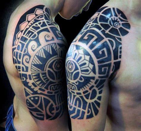 quarter sleeve tattoo length 70 quarter sleeve tattoo designs for men masculine ink ideas