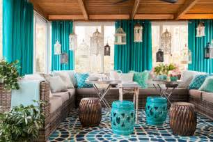 porch decorating ideas small screened in porch decorating ideas hgtv