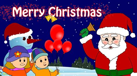 merry christmas nursery rhymes  kids songs  kidscamp youtube