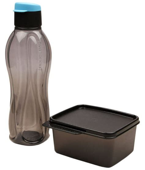 Tupperware Xtreme Bottle tupperware set of black lunch box bottle buy