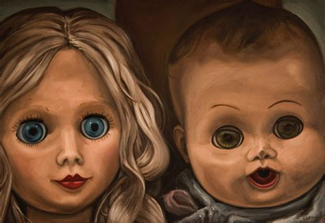 painting doll jeff clemens paintings