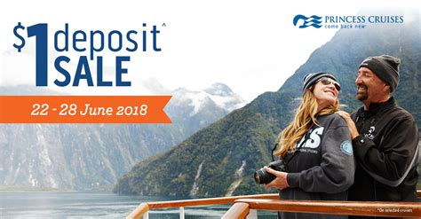 princess cruises deposit secure your new zealand cruise holiday with only 1