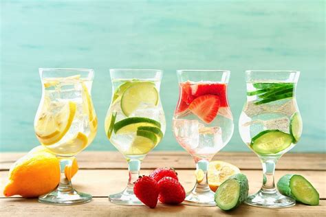 Spa Detox Water by Top Spas Spill Their Spa Water Recipes