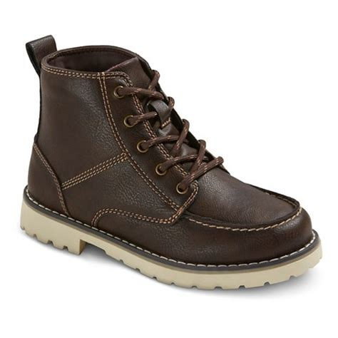 boys francisco hiking boots brown target