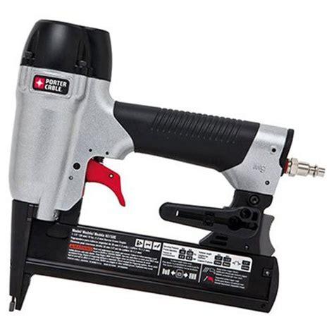 porter cable upholstery stapler porter cable ns150c 18ga narrow crown stapler staple gun