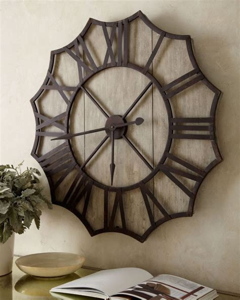 49 decorative large wall clock for pinterest