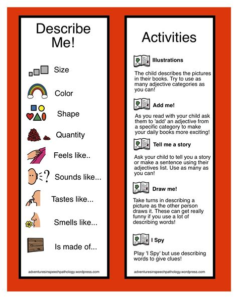 printable games with adjectives printable adjective games for 3rd grade 1000 images