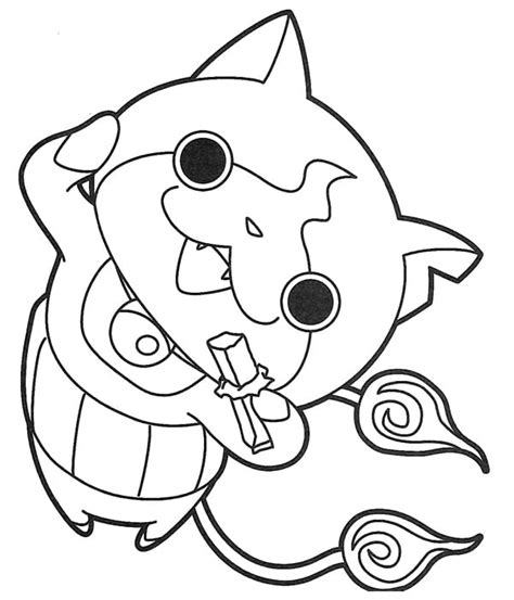 coloring pages yokai yo noko coloring pages coloring pages