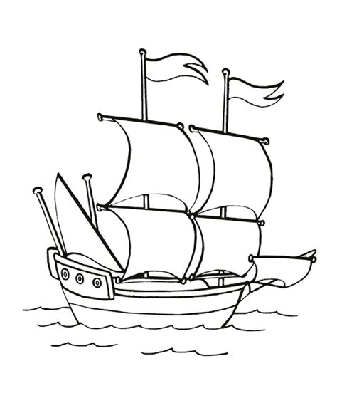 free coloring pages of army of ships