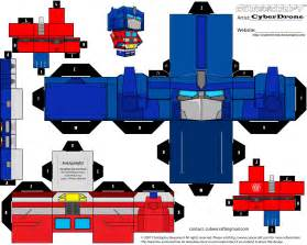How To Make A Transforming Out Of Paper - transformer birthday ideas on transformers