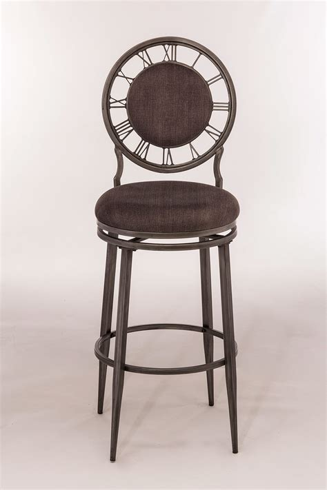 pewter bar stools hillsdale big ben swivel bar stool pewter 5905 830