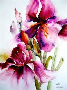 color iris iris watercolor iris my favourite flower