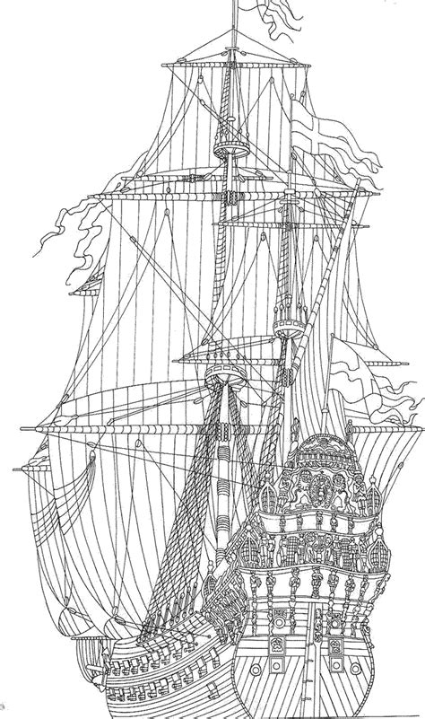 coloring pages for adults boats coloring page sailing ships tall ships coloring pages