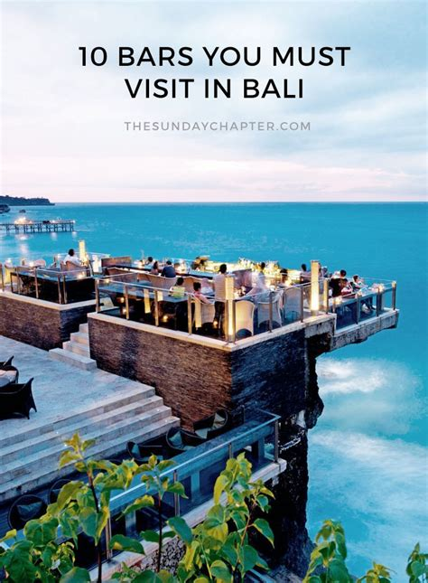 Top 10 Bars In Bali by The 10 Best Bars In Bali Resor Vackra Platser Och Platser