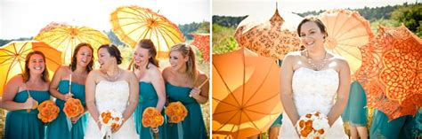 orange and turquoise tablescape turquoise with orange modern orange turquoise beach wedding every last detail