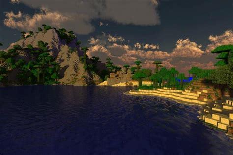 minecraft background   beautiful