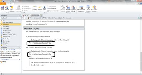 sharepoint create workflow two level approval workflow in sharepoint designer 2010