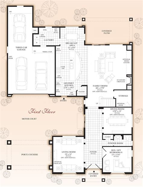 desert home plans windgate ranch scottsdale desert willow collection the torre home design