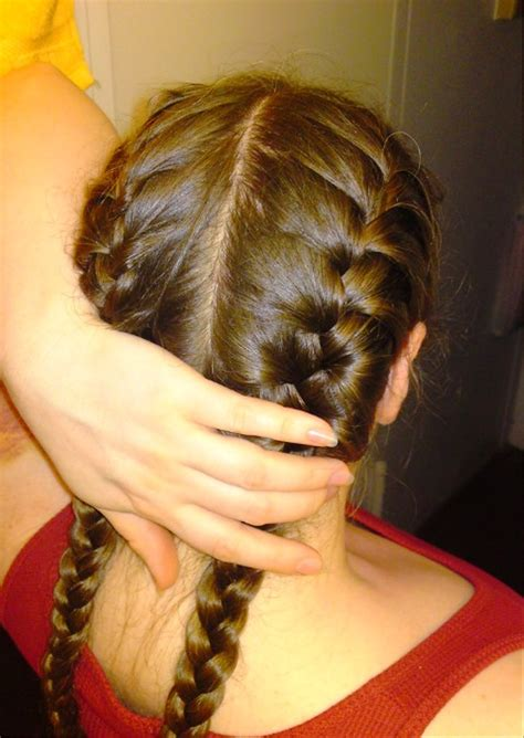 diy hairstyles for dummies french braided pigtail www pixshark com images
