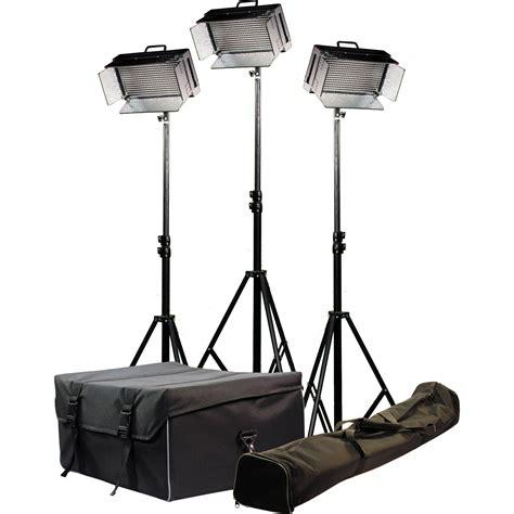 ikan id500 v2 3 point light kit id500 v2 kit b h photo