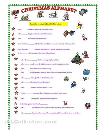 free printable christmas games worksheets 7 best images of free christmas alphabet games printables