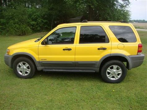 does ford escape 4 wheel drive buy used 2001 ford escape xlt 4x4 suv new tires towing