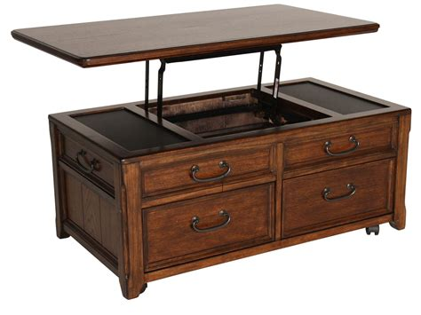 Ashley Woodboro Lift Top Cocktail Table Mathis Brothers Woodboro Lift Top Coffee Table