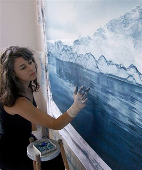 realistic finger paintings