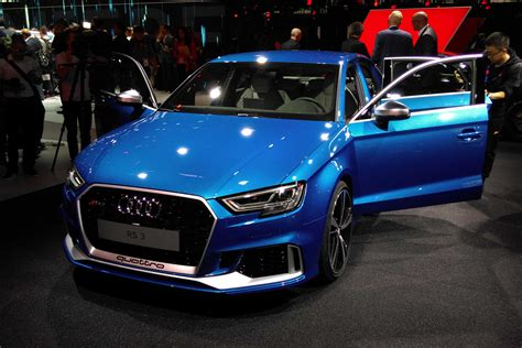 New Audi Rs3 by New Audi Rs3 Saloon Hits Uk In 2017 Carbuyer