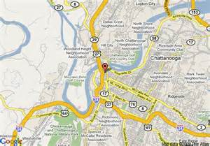 Comfort Suites Chattanooga Map Of Doubletree Hotel Chattanooga Chattanooga