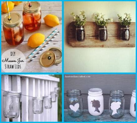 fun diy home decor ideas 10 fun uses for mason jars simple home diy ideas