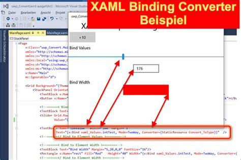 converter xaml xaml binding und converter beispiel codedocu de net
