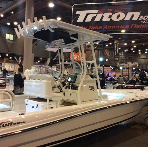 houston boat show facebook rule the waters with a 2017 triton lts houston boat