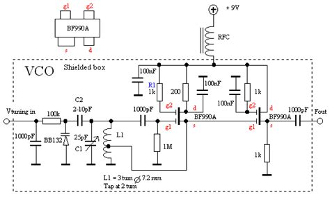 vco capacitor bank design am receiver for aircraft communication