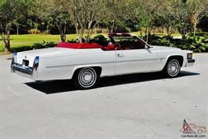 1979 Cadillac Coupe Convertible 1979 Cadillac Convertible Hess Ernhart