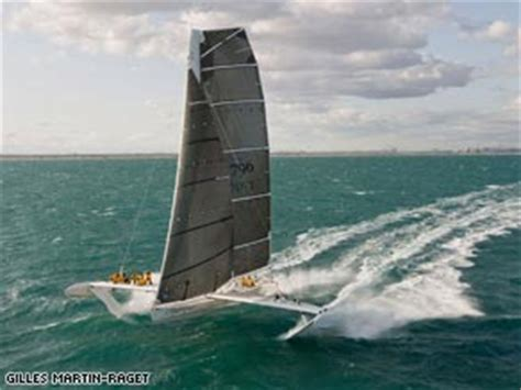 trimaran world speed record french yacht smashes another world record cnn