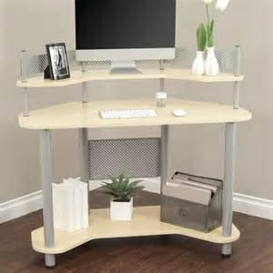 Study Corner Desk Calico Designs Study Corner Desk Silver Maple Desks At Hayneedle