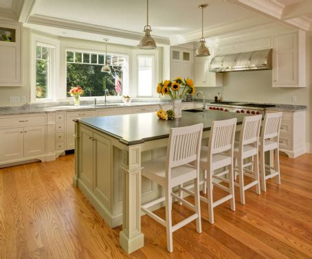 Green Kitchen Islands Cottage Country Farmhouse Design Country Cottage Style