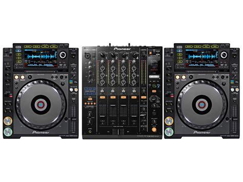 console pioner consolle per dj pioneer pioneer 2000 nxs bundle 2x cdj2000