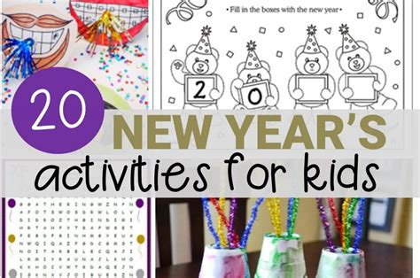 new year activities for youth grade archives the kindergarten connection