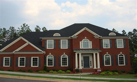 red brick house color schemes red brick homes exterior house colors with red brick