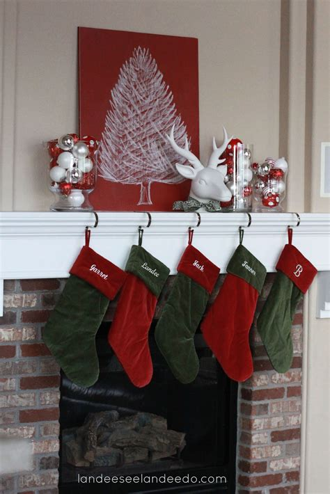 christmas decor christmas mantel decor landeelu com