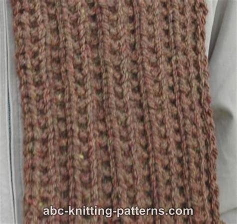knitting pattern ribbed scarf free ribbed scarf patterns knitting very simple free