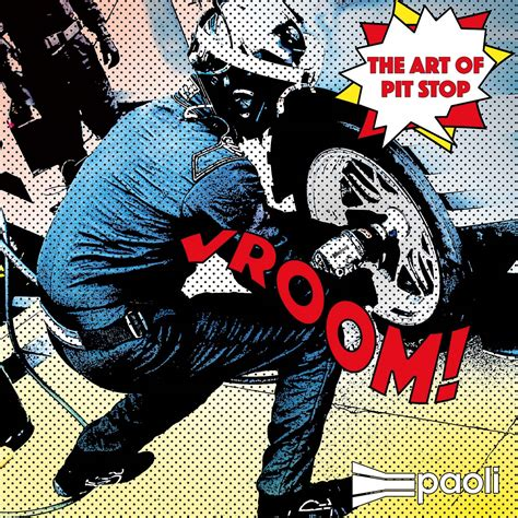 Pit Stop by Roy Lichtenstein The Of Pit Stop Paoli Pit Stop